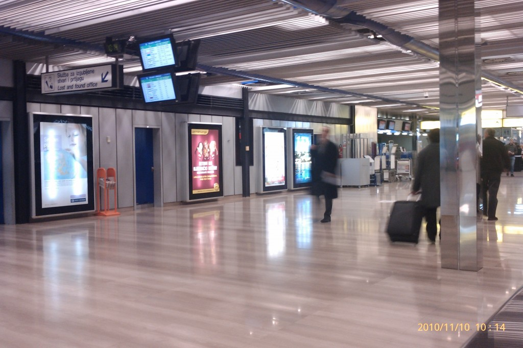 Zagreb international airport zagreb croatia stones of for Interior design zagreb